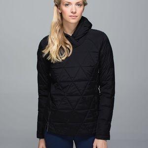 🍋 Lululemon fluffed up pullover puffer jacket
